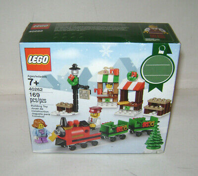 NEW 40262 LEGO CHRISTMAS TRAIN Collectors Building Toy SEALED BOX RETIRED RARE A