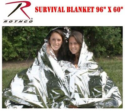 Polarshield 2-Person Survival Blanket For Bug out Bag Rothco 1042 2 Person Survival Blanket