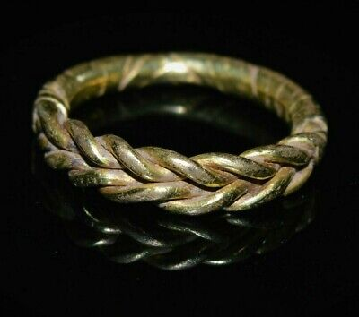 Viking Weaved Gold Ring