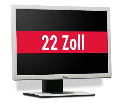 Fujitsu ScenicView B22W-5 22 Zoll Monitor Flachbildschirm Display Weiß 1680x1050