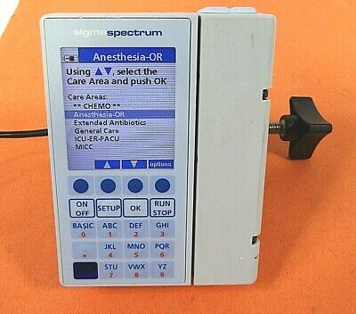 Baxter Sigma Spectrum Infusion Pump V6.05 With Battery - Free Shipping