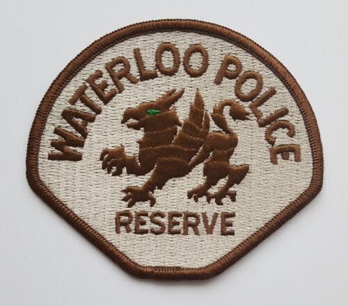 Waterloo Iowa Police Reserve Griffin patch