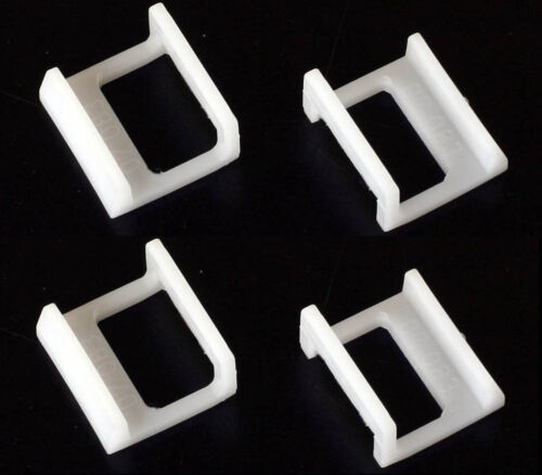 Jobo White Retaining Clips (#07083, set of 4)
