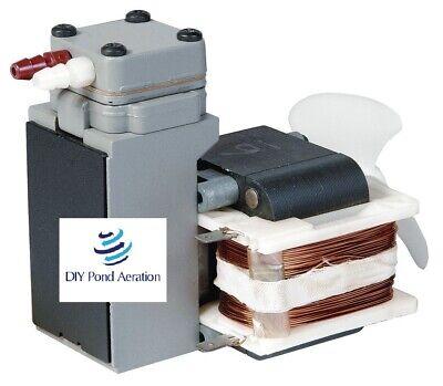 New Oem Piston Air Compressorvacuum Pump Thomas 014cd28 220v 26hg 100psi