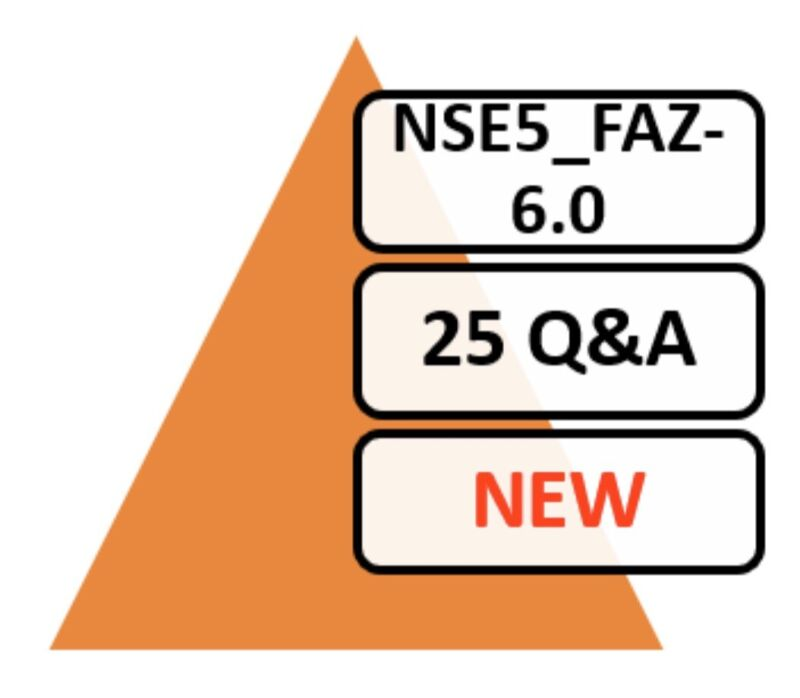 Fortinet NSE 5 - FortiAnalyzer 6.0 NSE5_FAZ-6.0 Exam 25 Q&A PDF Only!