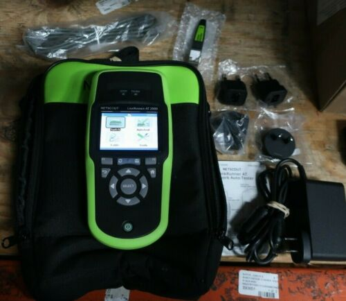 Netscout LRAT-2000 LinkRunner AT 2000 Network Tester w/Case + Accessories -*G34*
