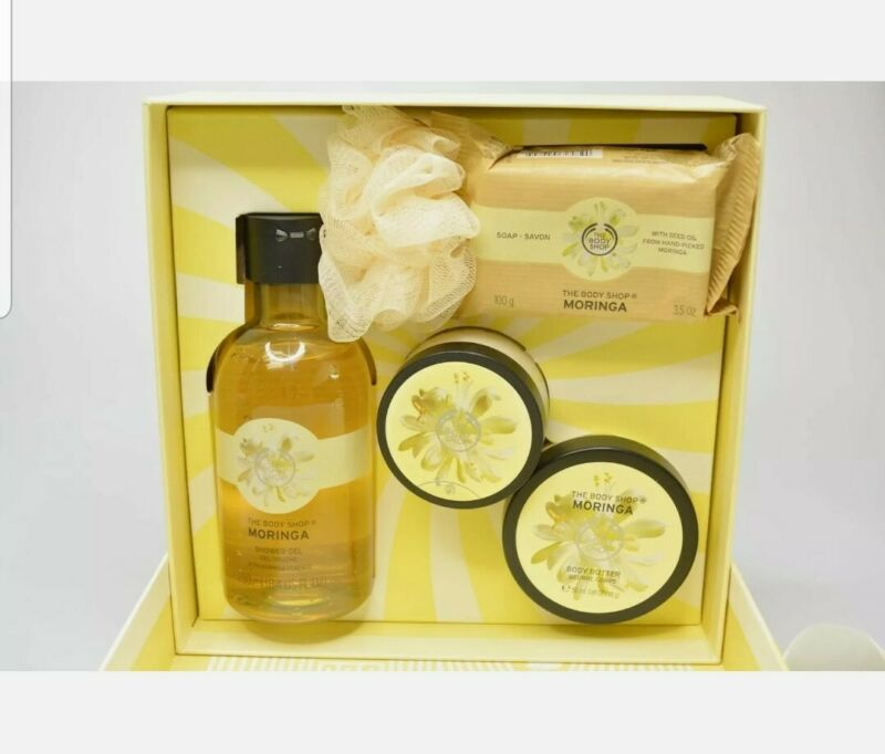 The Body Shop Moringa Festive Picks Small Gift Set Brand New