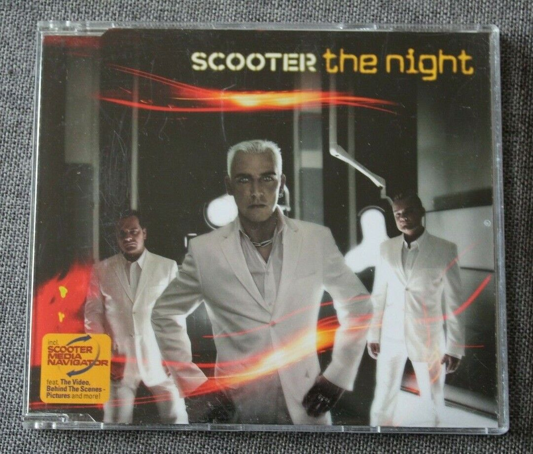 Scooter, the night , maxi cd
