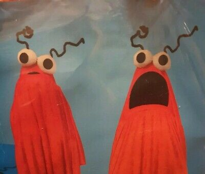 ALIEN MONSTER Like COSTUME ADULT ONE SIZE Funny Group Discount Halloween