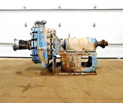 Mo-2591 Goulds 5500 Severe Duty Slurry Pump. B4 Frame. 4x6-29. 770 Gpm. 340 Hd.