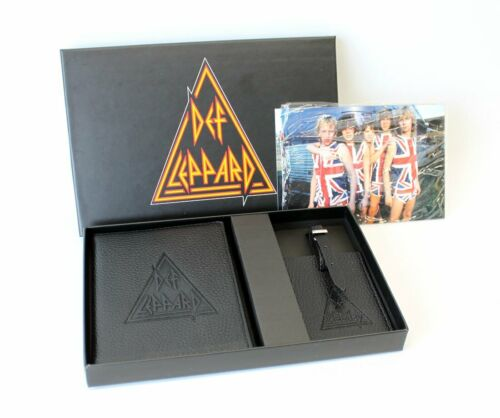 Def Leppard VIP Tour Package Passport Luggage Tag Band Postcards 2018 Tour Rock