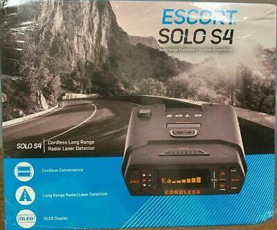 Escort Solo S4 Pantalla OLED inalámbrica Detector de radar láser de largo alcance Alerta de voz