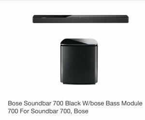 Bose 700 soundbar an sub $1500