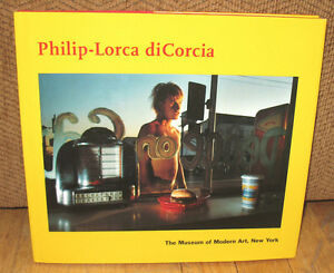 SIGNED Philip Lorca Dicorcia Museum of Modern Art Monograph Portraits Street HC