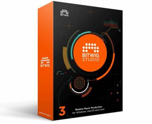 Bitwig Studio 8-Track - Genuine License - Windows & Mac