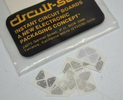 New Circuit-stik Prototype Circuit Board To-18 3-lead .200 Spread Dia Stickers