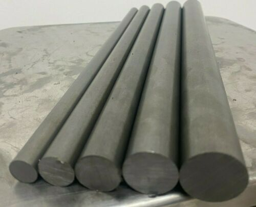 12L14 Steel Bar Stock Assortment 5 Round Bars See Description