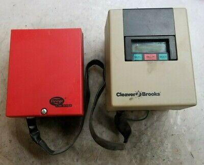 Cleaver Brooks 833-2591 Burner Control W Fireye Flame Monitor E300
