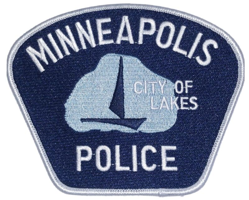 Minneapolis MN City of Lakes Police Patch
