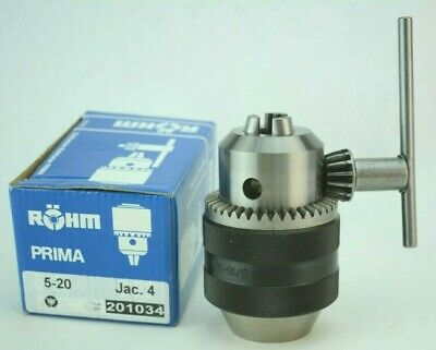 Rohm Germany Quality Precision Drill Chuck Key 316-34 4jt 4 Jacobs Taper