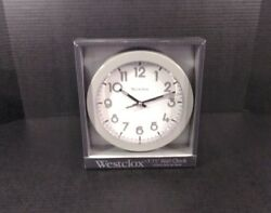 nib westclox wall clock quartz battery operated home office