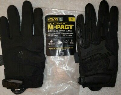 Reduced - Mechanic Wear Taa Covert M-pact Anti-static Impact Gloves Size Small