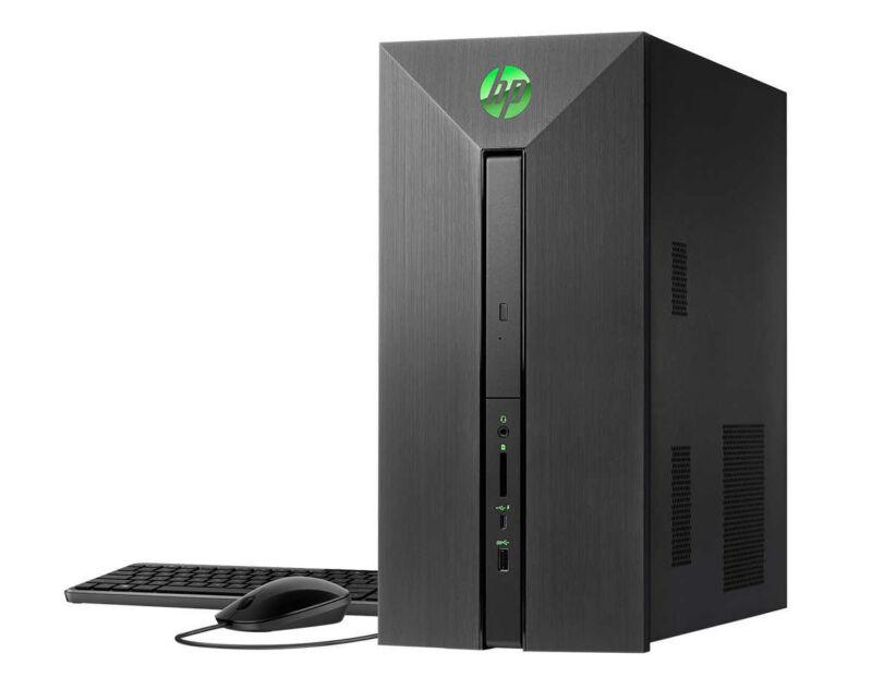 New HP Pavilion NVIDIA GTX 1060 Intel Core i5-7400 3.5GHz 8GB 1TB HDD DVD Win 10