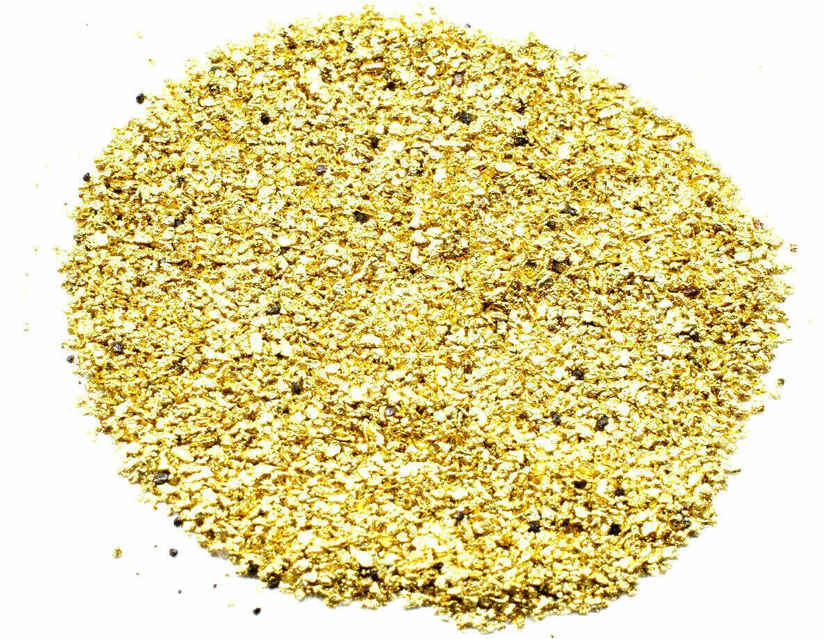 Alaskan Yukon Gold Rush Nuggets 18-16 Mesh 2 Grams of Small Fines