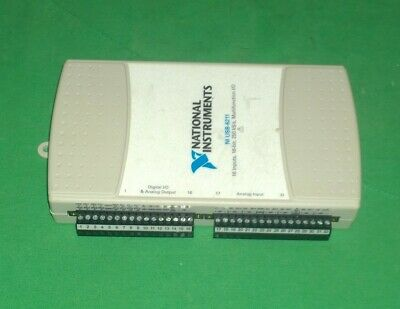 National Instruments 194710d-03l Ni Usb-6211 Multifunction Io Module 3144