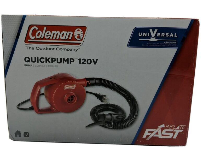 Coleman Quickpump 120V Electric Pump *Issue with box read*