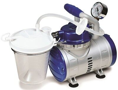 John Bunn Medical Hd Home Suction Pump Vacuum Machine Jb0112-016 Free Ship Nib