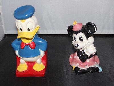 Donald Duck & Minnie Mouse Piggy Banks