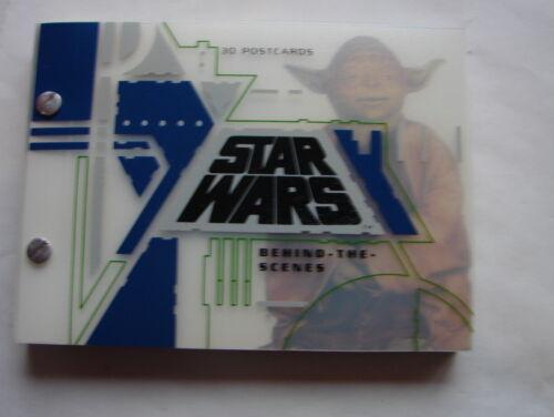 Star Wars Behind the Scenes 3D postcard book original movies McQuarrie art 420