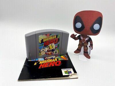 Bomberman Hero mit Anleitung - Nintendo 64 N64 Bomben Spiel