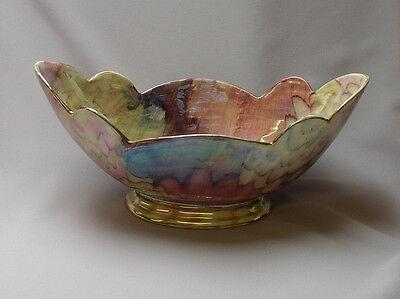 J Pryer Ltd China Oldcourt Ware Large Vase - Made in England