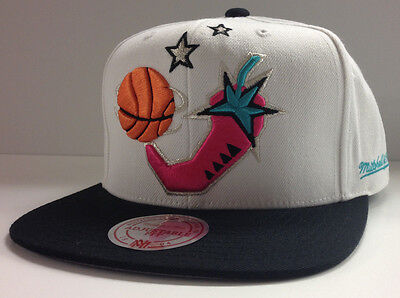 Nba 1996 All Star Game Mitchell   Ness Cap Snapback Hat Hot Chili Pepper 96 Asg