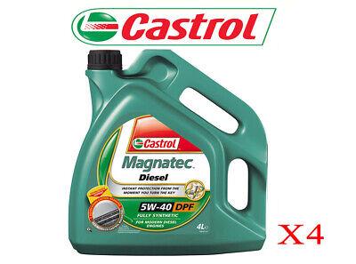 ACEITE MOTOR CASTROL 5W40 MAGNATEC DPF C3 16 LITROS 100% SINTETICO VOLKSWAGEN