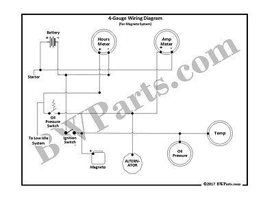 sa 200 4 gauge kit for magneto system bw1069 ke sa 200 4 gauge kit for magneto system bw1069 ke