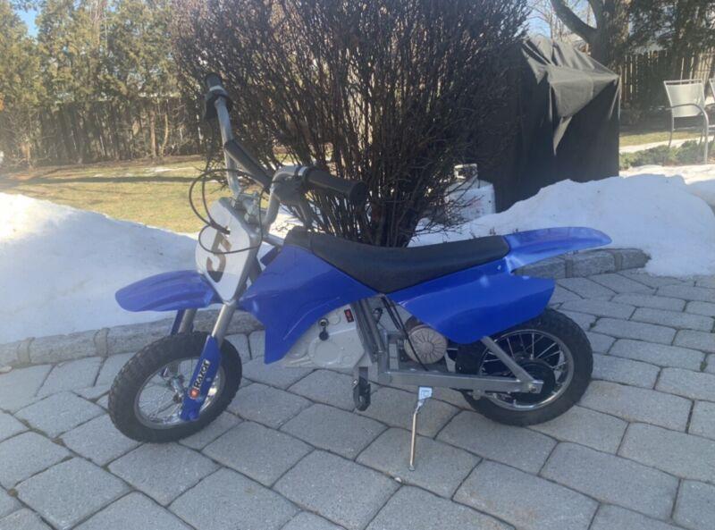 Razor electric dirtbike!