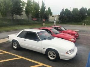 1987 Ford Mustang LX Notchback
