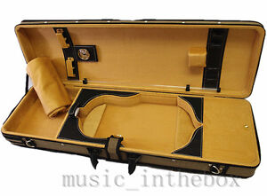 New-Style-VC9500BRG-4-4-Pro-Enhaced-Wooden-Violin-Case-I-free-violin-string