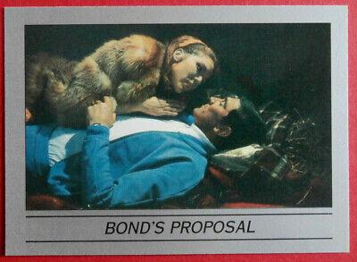 ON HER MAJESTY'S SECRET SERVICE - Card #43 - BOND'S PROPOSAL - Eclipse 1993