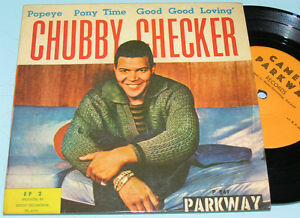 BOBBY-RYDELL-CHUBBY-CHECKER-Rare-ISRAELI-7-45-EP-Cameo-Parkway-Northern-Soul