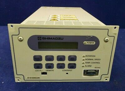 Shimadzu Tmp Power Unit Turbomolecular Pump Controller Ei-d2003m