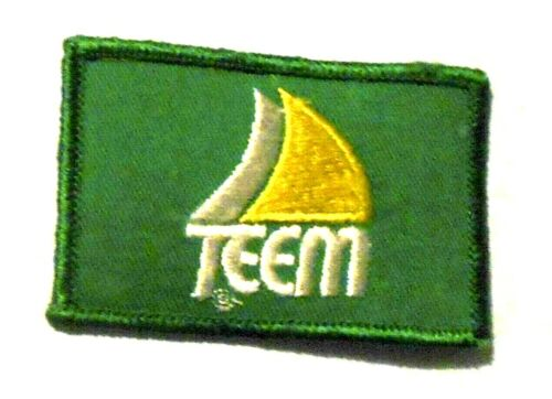 Teem Embroidered Soda Patch Vintage 3-1/8""