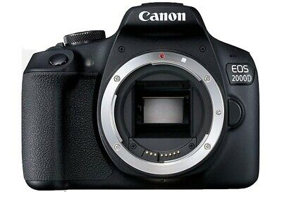 Sale Canon EOS Rebel T7 / 2000D 24.1 MP Digital SLR Camera Body only Deal