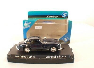 Solido Yesterday Mercedes 300 Sl Never Output 1/43