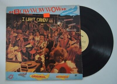 Bow Wow Wow Lp I Want Candy       Vg Vg   Uk Import