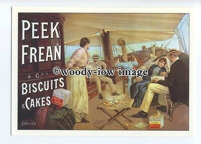 ad0702 - Peek,Frean & Co's Biscuits & Cakes - At Sea -  Modern Advert Postcard