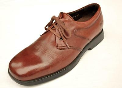 Men's Arche Brown Leather Oxfords Size 8  Made in France